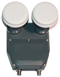 Monoblock LNB Twin Maximum 0,3 dB