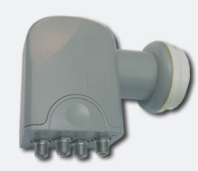 Quad LNB MTI Blueline 0,2 dB