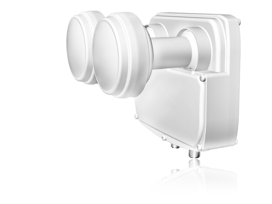 Monoblock LNB Twin Opticum 0,1 dB