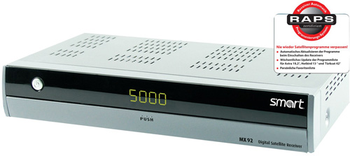Smart MX 92 HDTV CI PVR ready